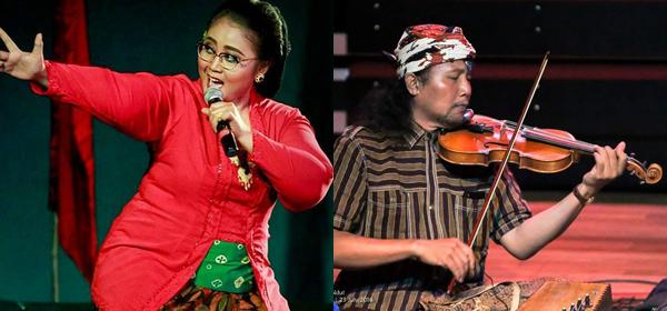 Endah Laras and Danis Sugiyanto